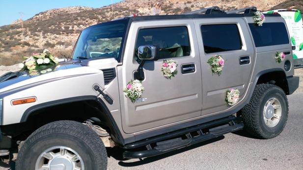 hummer para boda